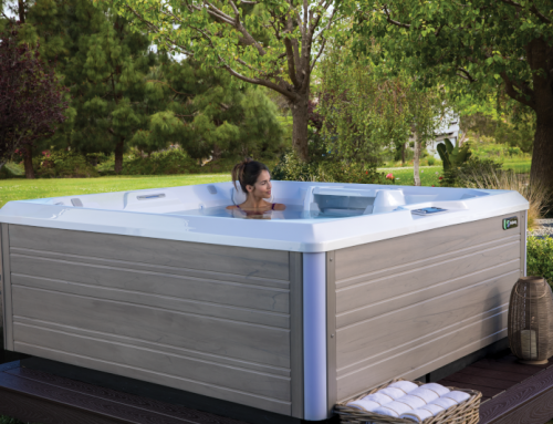 Limelight Beam 4 Person Hot Tub